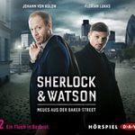 """Gratis: Hörspiel """"Sherlock & Watson: Neues aus der Baker Street – Ein Fluch in Rosarot"""""""