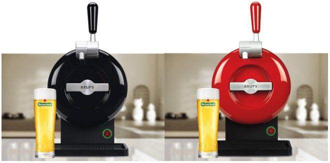 Nur heute: Krups The Sub im Heineken Design für 99€ (statt 199€)   oder The Sub Mini für 59€