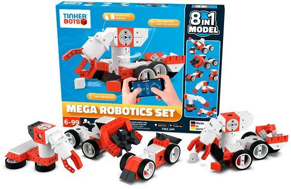 Tinkerbots Robotics Mega Set für 199€ (statt 260€)