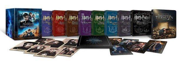 Wizarding World 9 Film Collectors Edition als Steelbook für 80,73€ (statt 120€)