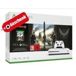 Xbox One S 1TB + The Division 2 + Fallout76 + 3. Spiel (z.B. Red Dead Redemption 2) nur 222€ (statt 280€)