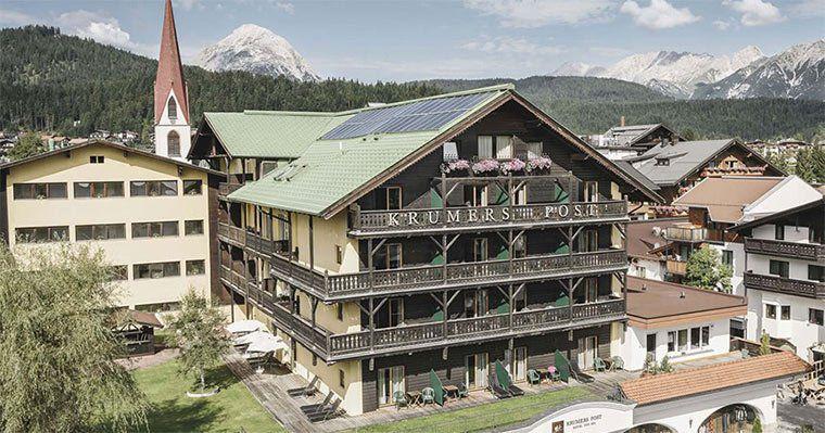 5 ÜN in Tirol in einem 4,5* Wellnesshotel mit HP, Gesichtsbehandlung & Wellness auf 2.500m² für 500€ p.P.