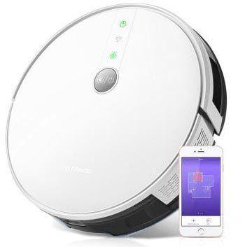 Alfawise V8S PRO – Staubsaugroboter mit Alexa & Google Home Support, 1800Pa & Wischfunktion für 154,69€