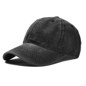 Basecap im schwarzen Used Look für 6,39€