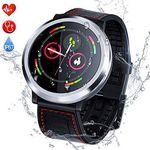 Q68 Smartwatch mit Schrittzähler & Pulsmesser u.a. für 33,83€ (statt 47€)