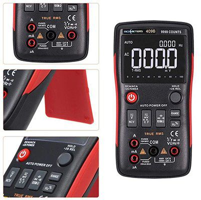 RICHMETERS RM409B True RMS Digital Multimeter AC / DC & Temperatursensor ab 24,36€