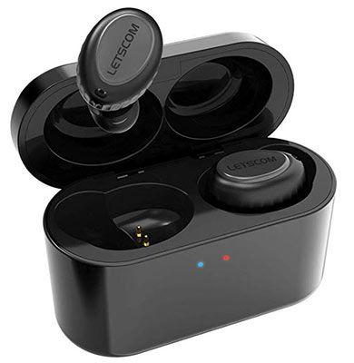 HV 358Pro InEar Bluetooth (V5) Kopfhörer mit Ladebox für 23,99€ (statt 40€)