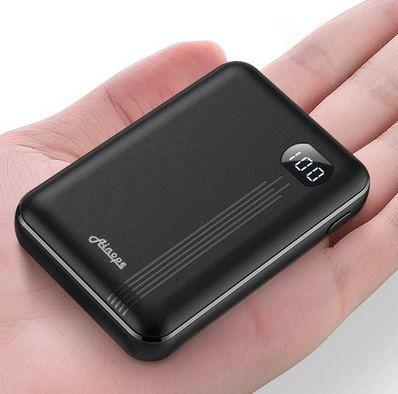 AINOPE Mini Powerbank (10.000mAh) mit LCD für 10,34€   Prime