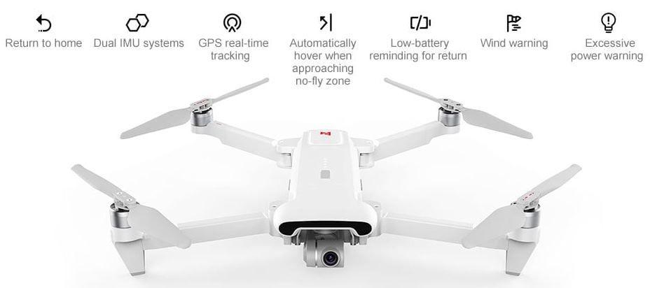 FIMI X8 SE 5KM FPV 4K Drone mit bis zu 33min Flugzeit & Controller für 427,70€ (statt 489€)