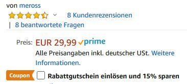 WLAN Lichtschalter mit Alexa, Google und IFTTT Unterstützung für 19,49€ (statt 30€)