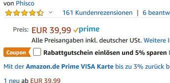Phisco 8108 Elektrorasierer mit Pop up Trimmer für Nass & Trocken für 24,99€ (statt 40€)
