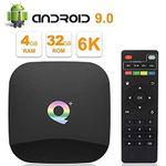 Q PLUS 6K TV Box mit 16 oder 32GB ROM & Android 9 ab 31,79€ – aus DE