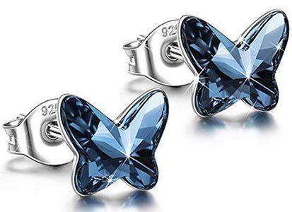 Angel Nina Damen Ohrringe Schmetterling für 9,99€   Prime