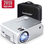 BOMAKER 720p LED Beamer mit 3600 Lumen für 66,99€ (statt 110€)