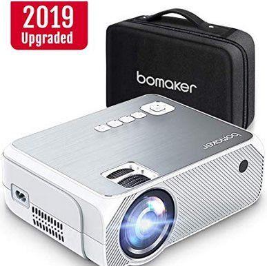 BOMAKER 720p LED Beamer mit 3600 Lumen für 67,99€ (statt 120€)