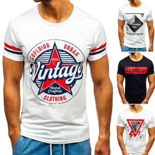 BOLF 3C3   Herren Logo T Shirts für je 8,95€ (statt 11€)
