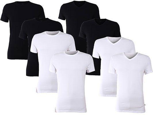4er Pack Joop! Herren Basic T Shirt O Neck / V Neck für je 29,95€ (statt 70€)