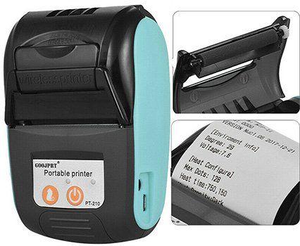 GOOJPRT PT 210 Mini Bluetooth Thermodrucker (58mm) für 28€