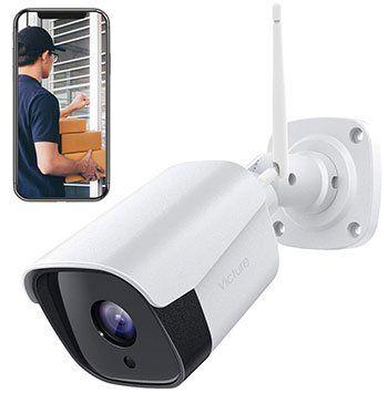 VICTURE PC730 1080p WLAN Außenkamera mit Nachtsicht, Bewegungserkennung & mehr für 27,99€ (statt 54€)