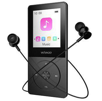 16GB MP3 Player mit LCD & FM Radio   durch Speicherkarte erweiterbar für 14,45€