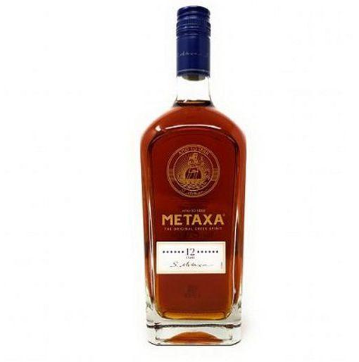 Metaxa 12 Sterne Weinbrand mit 2 Gläsern (1x 0,7l, 40 Vol. %) für 25€ (statt 33€)