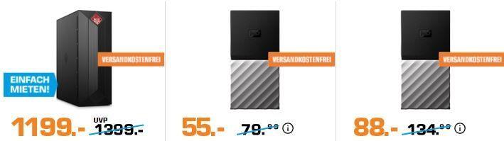 Saturn Computer Late Night: z.B. HYRICAN MILITARY 5848 Gaming PC für 577€ (statt 655€)