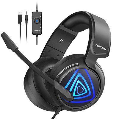 Mpow Gaming Headset EG8 mit 360° Surround Sound für 16,99€ (statt 26€)
