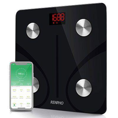 Renpho ESCS20M Bluetooth Körperfettwaage mit App Anbindung für 26,39€ (statt 33€)