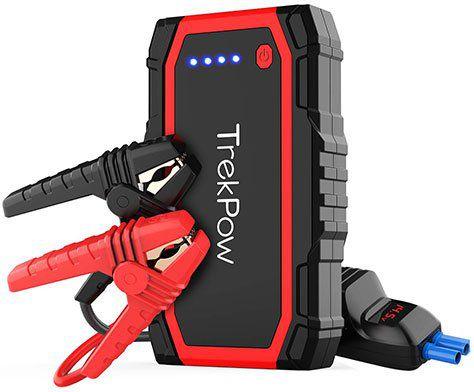 Trekpow A18 Starthilfe & Powerbank mit 800A für 47,99€ (statt 60€)