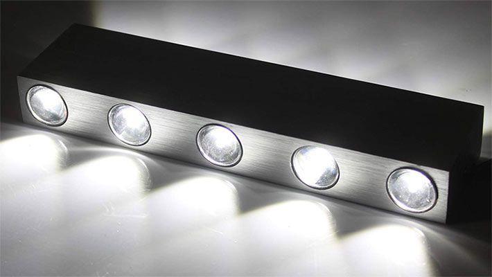 30% Rabatt auf verschiedene Wandleuchten mit 2, 4 oder 5 LEDs ab 6,29€ (statt 9€)