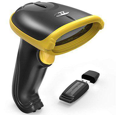 TT BS031  Kabelloser Barcode Scanner mit Akku für 21,99€ (statt 30€)