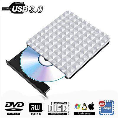 PIAEK KLJ008   Externes CD/DVD Laufwerk & DVD Brenner für 15,59€ (statt 24€)
