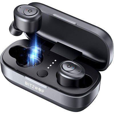 Blitzwolf BW FYE4 TWS Kopfhörer mit Bluetooth V5.0 & 20h Spielzeit für 24,99€ (statt 45€)