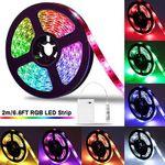 2M LED Streifen 5050 RGB mit Controller für 8,24€ – Prime