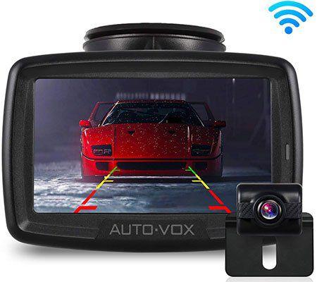 AUTO VOX W2   kabellose Rückfahrkamera mit 4,3 Zoll Display für 83,24€ (statt 111€)