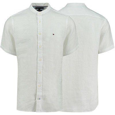 Tommy Hilfiger Kurzarm Leinenhemd für 62,88€ (statt 75€)