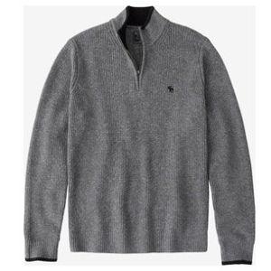 Abercrombie & Fitch Grobstrick Pullover in Grau für 38,21€