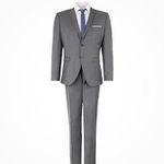 Selected Business-Anzug in Slim Fit meliert für 72€ (vorher 200€)