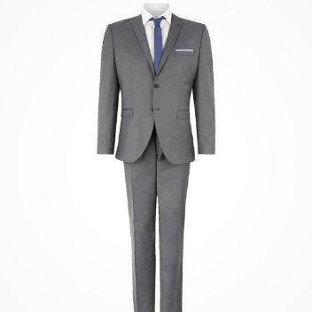 Selected Business Anzug in Slim Fit meliert für 72€ (vorher 200€)