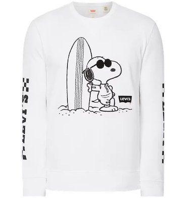 Levis Sweatshirt mit Snoopy Print für 33,99€ (statt 55€)   nur S und M