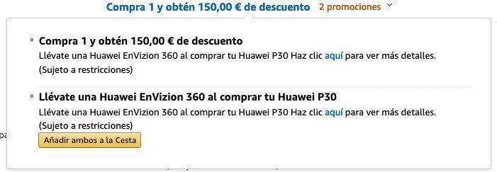🔥 Huawei P30 Smartphone 128GB + Huawei 360° Kamera für 484,11€ (statt 603€)