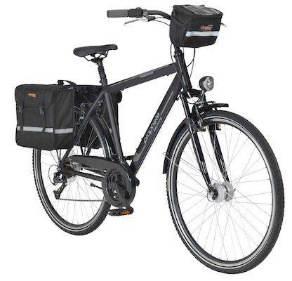 Prophete Entdecker 720   28 Zoll Trekkingbike mit 24 Gängen und V Bremsen für 239,99€(statt 305€)