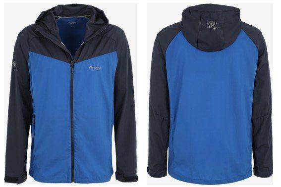 Bergans Herren Jacket Microlight in Blau für 49,05€ (statt 110€)