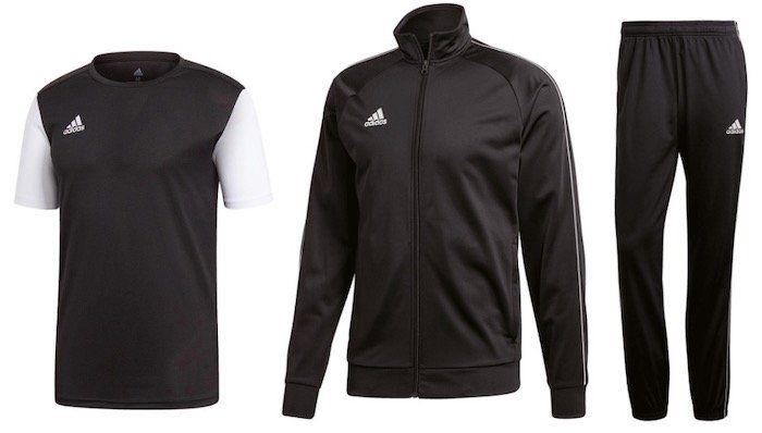 Geomix: adidas Core 18 Sale ohne VSK   z.B. Trainings Set (Jacke, Hose, Trikot, Short) für 40,95€ (statt 57€)