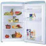 Bunte Kühlschränke und Kombis bei Saturn – z.B. Exquisit Kühlgefrierkombi in Taubenblau für 329€(statt 419€)