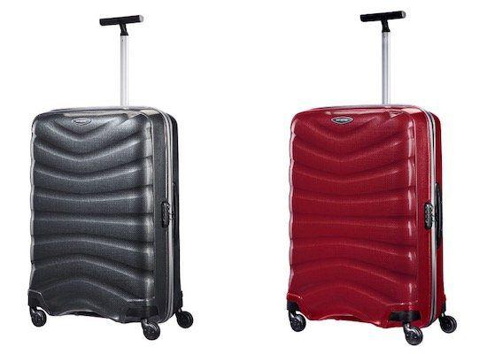 Samsonite 4 Rollen Trolley Firelite 55cm in Rot oder Schwarz für 140,15€ (statt 184€)