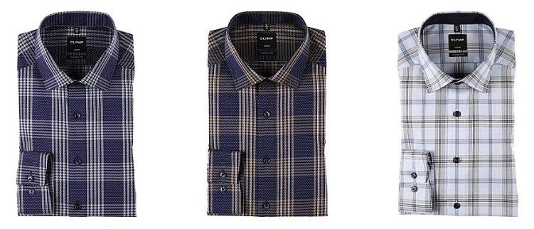 Olymp Hemden (Level Five, Luxor, No Six) ab 24,99€ zzgl. VSK