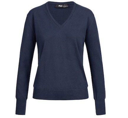 Fila Damen Jumper Retro V Neck Sweater für je 7,99€ + VSK