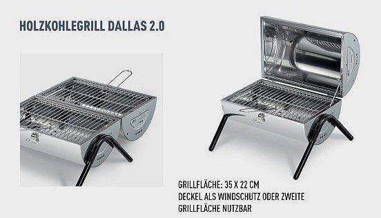 Enders Holzkohlegrills und Accessoires bei vente privee   z.B. Dallas 2.0 Holzkohlegrill für 29,99€ (statt 45€)