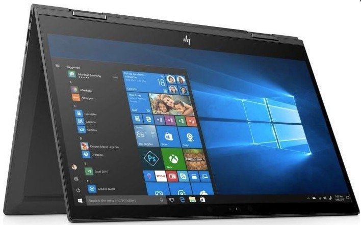 HP Envy 15 cp0004ng Convertible mit Ryzen 7 + 256GB SSD für 699€ (statt 801€)
